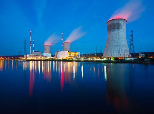 Kerncentrale in Tihange